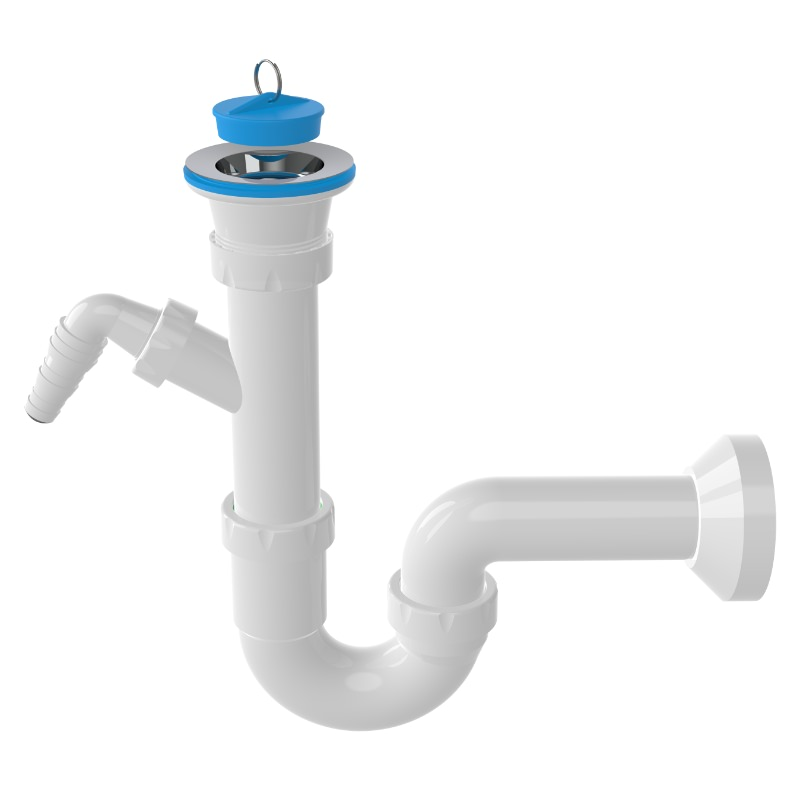 1120 Classic -S- Trap Siphon For Sinks With Machine Connection