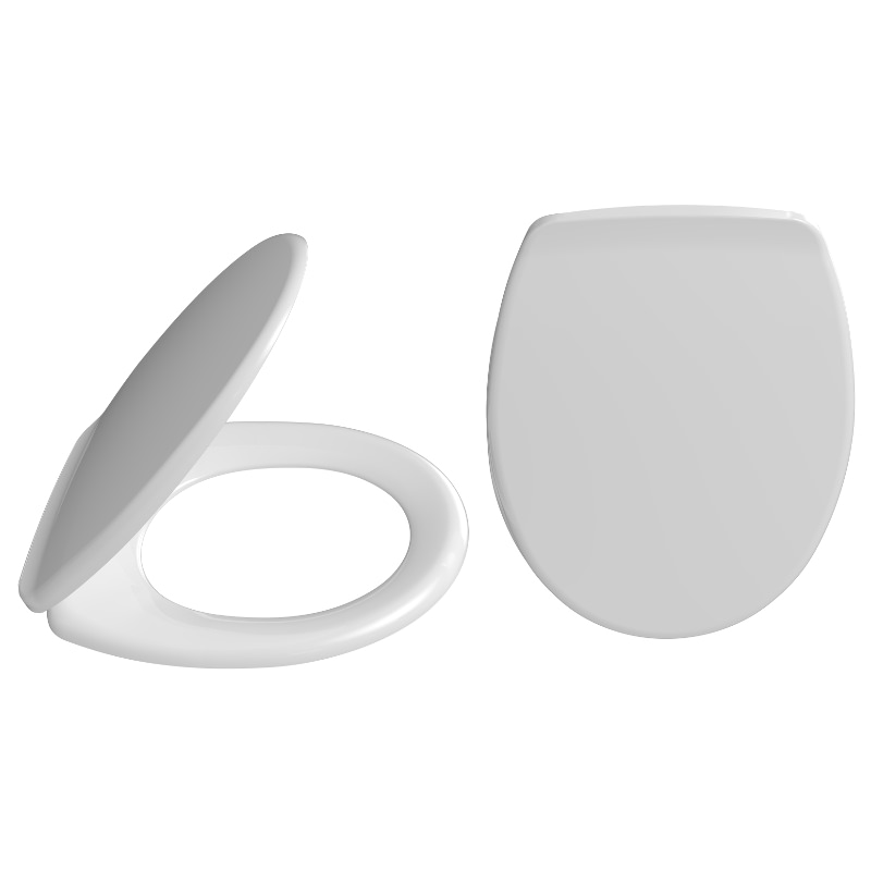 2020 King Toilet Seat With Plastic Hinges Fixed From Bottom