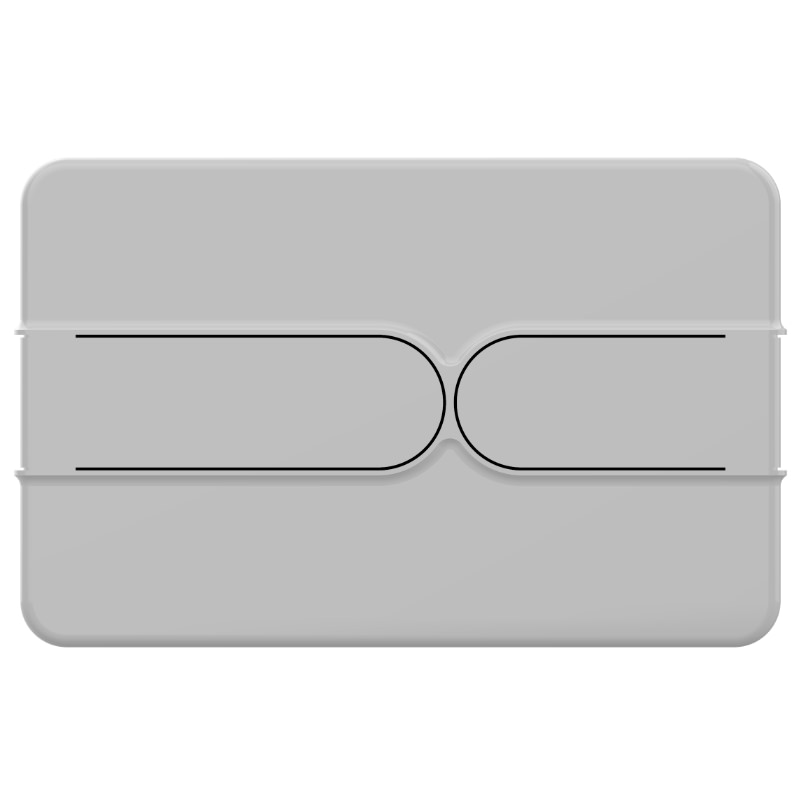 7319 New Matt Grey Button
